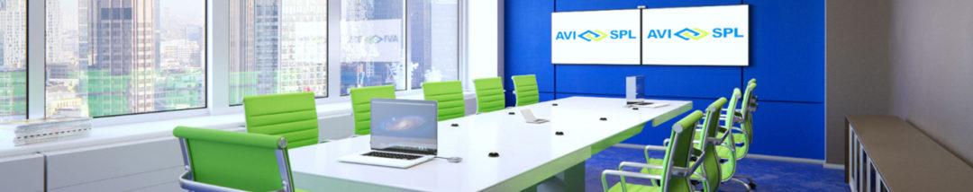 AVI-SPL collaboration room