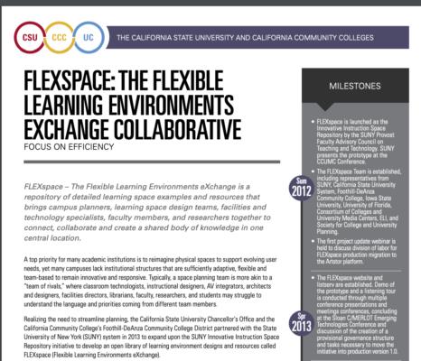 CHEC Award for FLEXspace