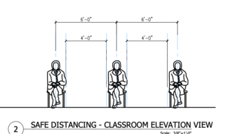 "New ""Social Distancing"" collection of learning space layouts, specs, and planning resources in FLEXspace"